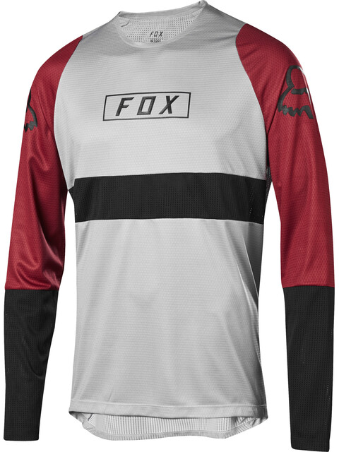 Fox Defend Fox LS Jersey Men steel gray